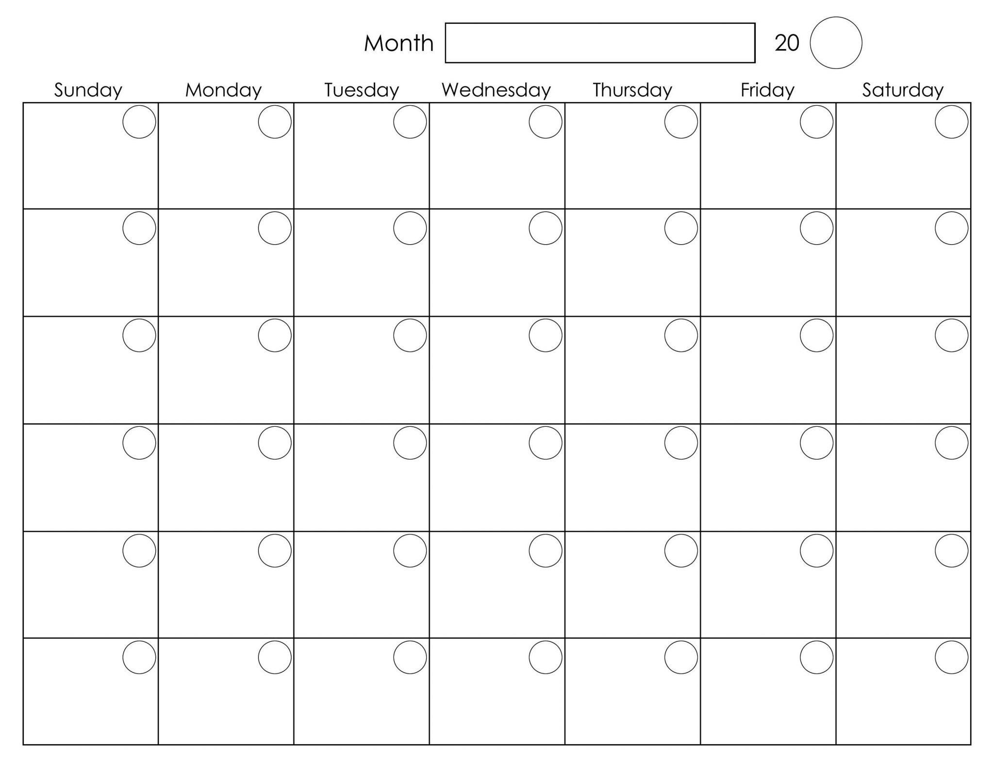 August 2018 Calendar Tumblr Blank Templates