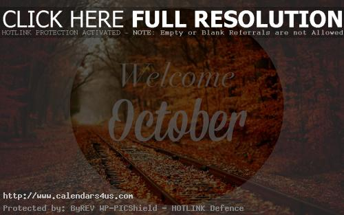 October Pictures for Facebook