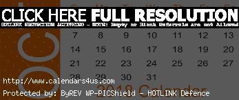 October 2018 Editable Calendar Landscape